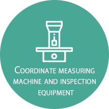 Coordinate measuring machine and inspection equipment