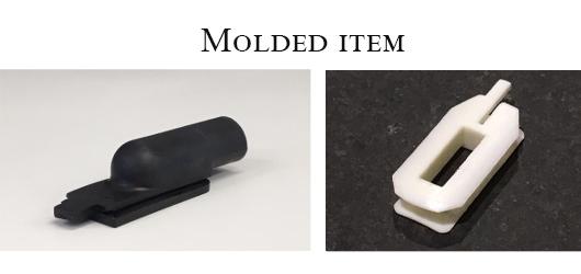 Molded item