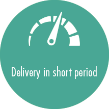Delivery in short peirod