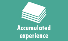 Accumulated experience