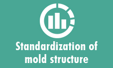 Standardization of mold structure